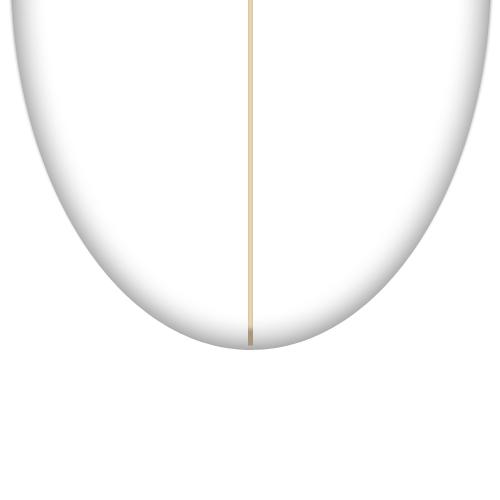 surfboard round tail