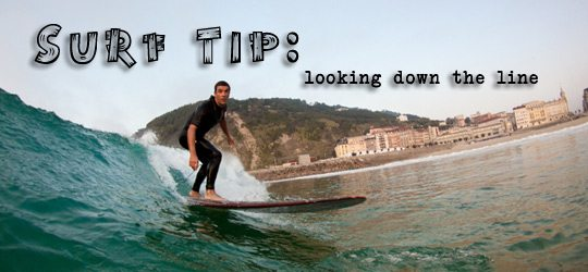 Photo of Surf Tip – Looking Down The Line