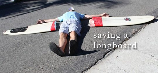 Photo of Saving a Longboard
