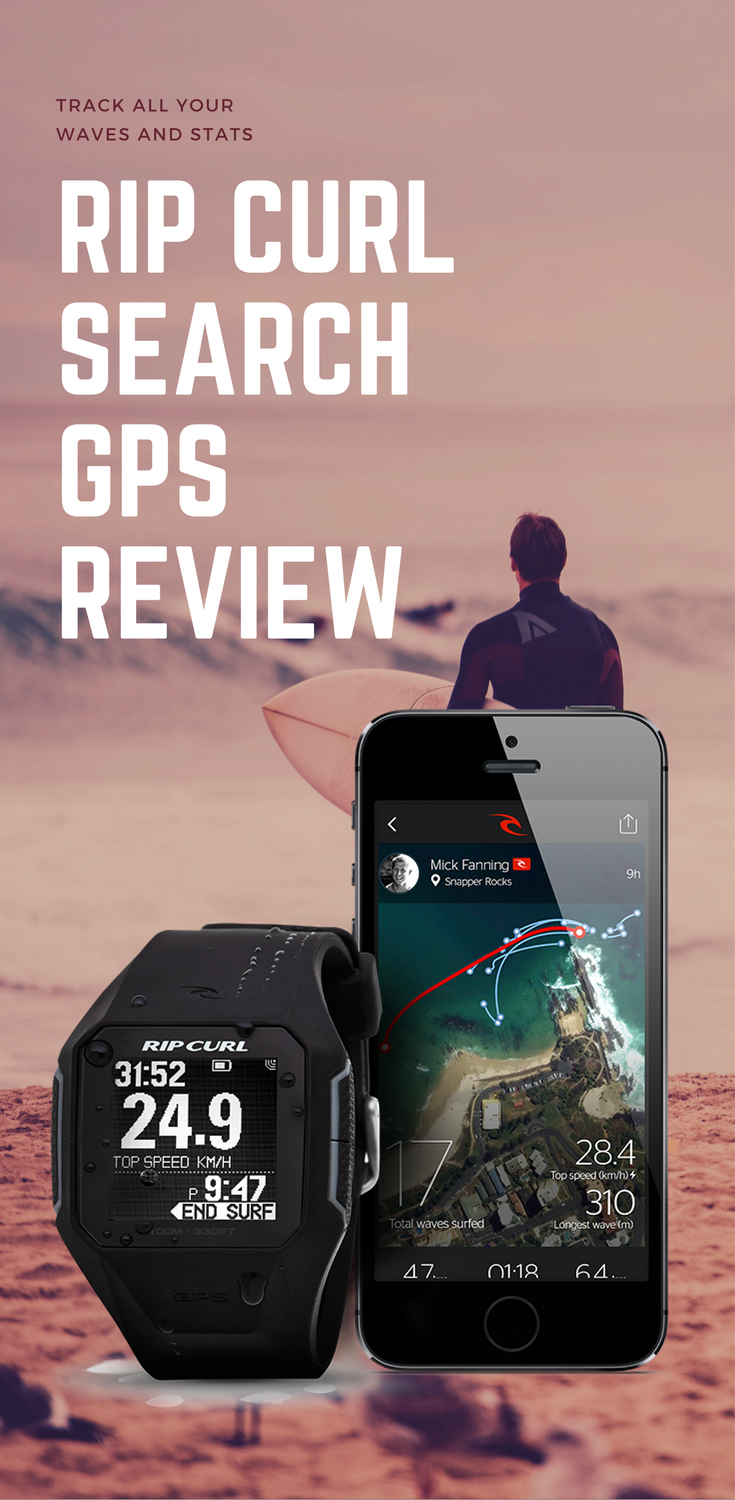 We Review The Rip Curl Search GPS - Track All Your Waves and Session Stats