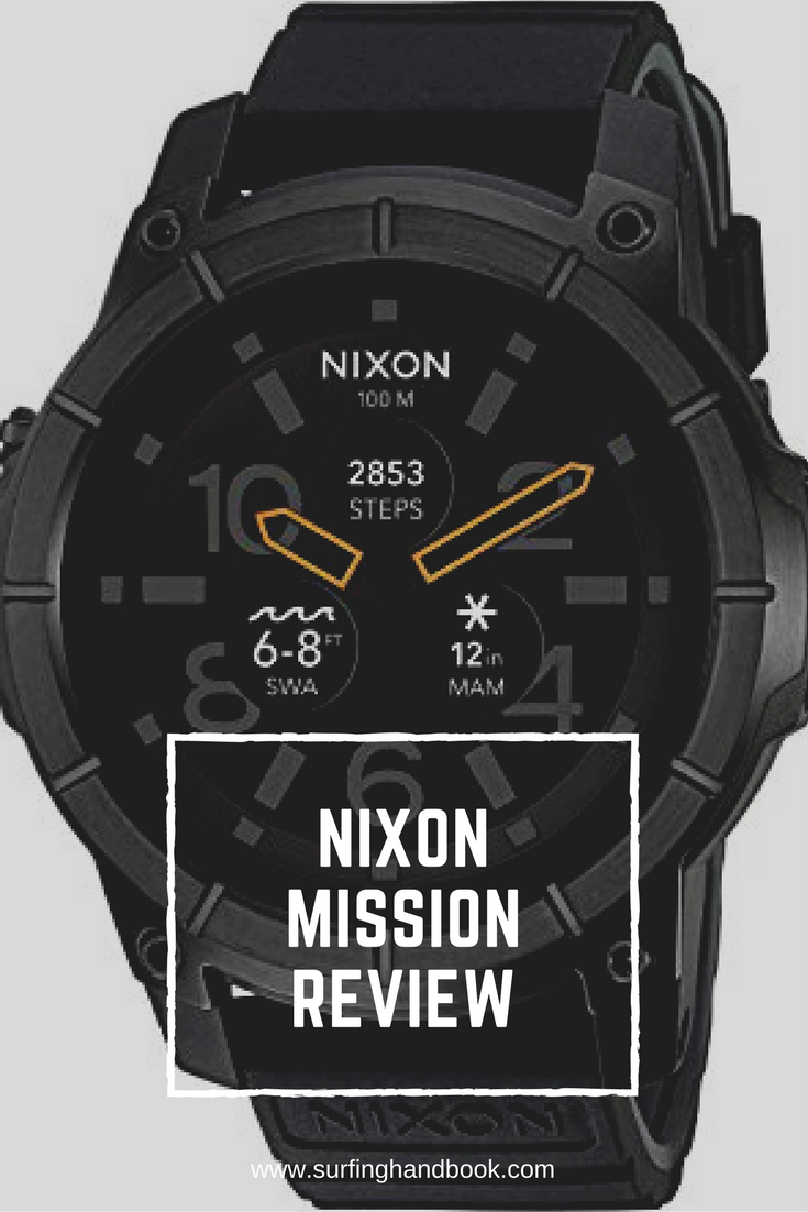 This review of the Nixon Mission smartwatch covers all the features, pros and cons, and more!