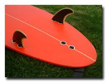 Make your board a pseudo-twinnie for fun