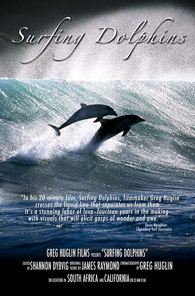 Surfing Dolphins Movie Poster