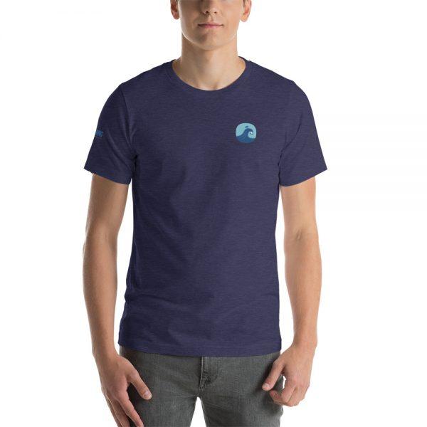 Surfing Handbook Wave Short-Sleeve Unisex T-Shirt 9