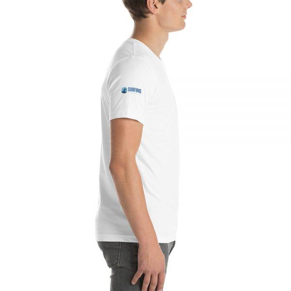 Surfing Handbook Wave Short-Sleeve Unisex T-Shirt 6