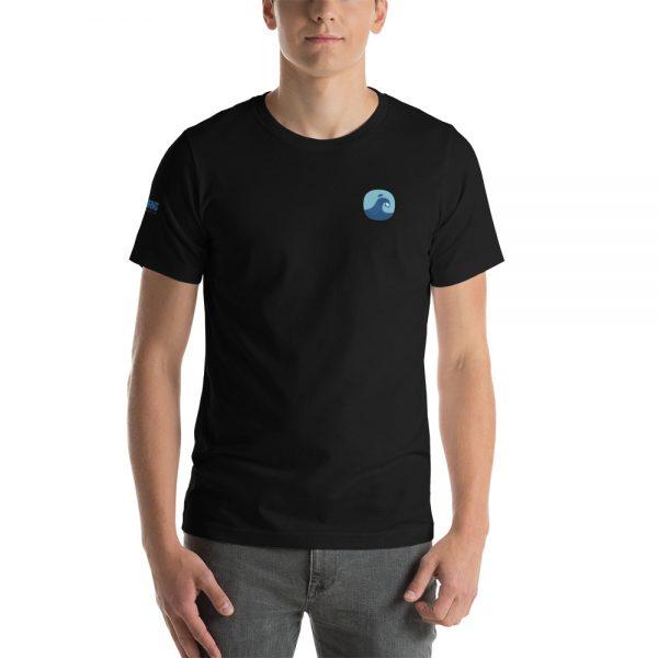 Surfing Handbook Wave Short-Sleeve Unisex T-Shirt 7