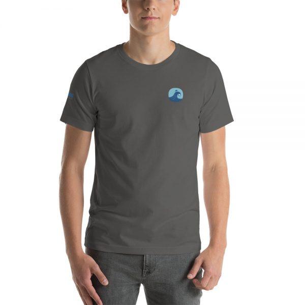Surfing Handbook Wave Short-Sleeve Unisex T-Shirt 13
