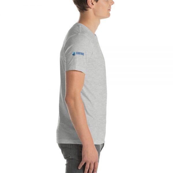 Surfing Handbook Wave Short-Sleeve Unisex T-Shirt 16