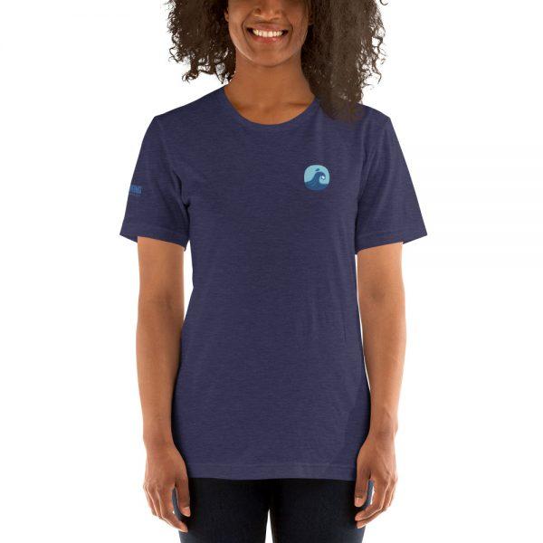 Surfing Handbook Wave Short-Sleeve Unisex T-Shirt 2