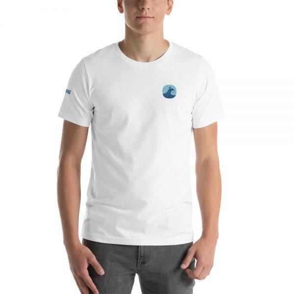 Surfing Handbook Wave Short-Sleeve Unisex T-Shirt 1