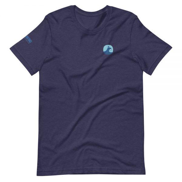 Surfing Handbook Wave Short-Sleeve Unisex T-Shirt 4