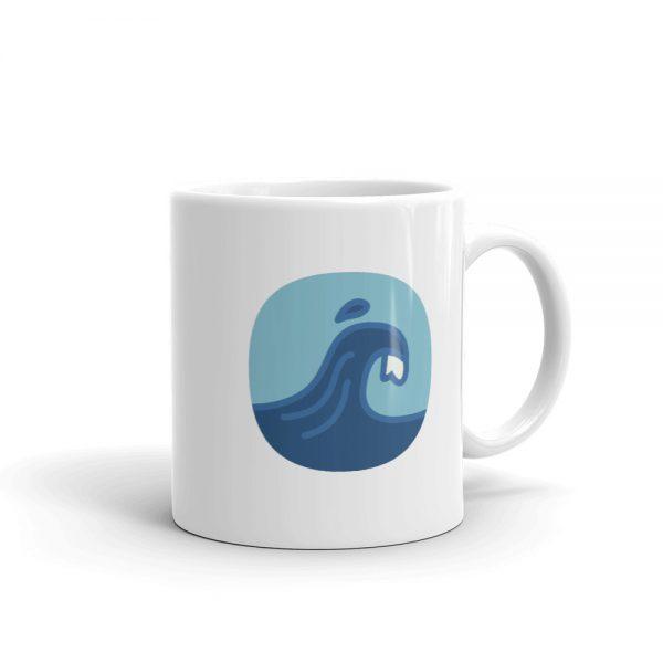 Surfing Handbook Logo Mug 1