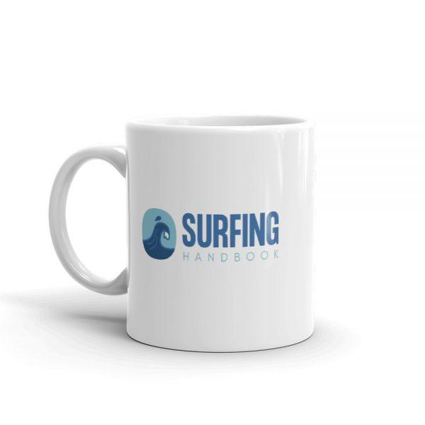 Surfing Handbook Logo Mug 2