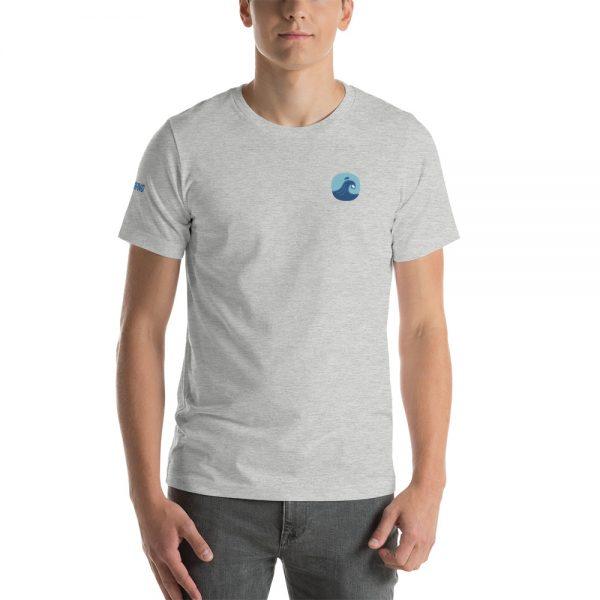 Surfing Handbook Wave Short-Sleeve Unisex T-Shirt 15