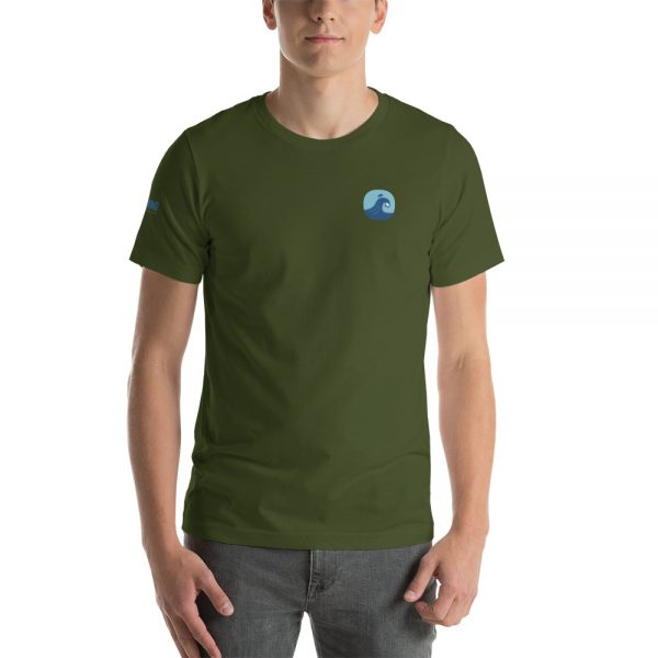 Surfing Handbook Wave Short-Sleeve Unisex T-Shirt 11