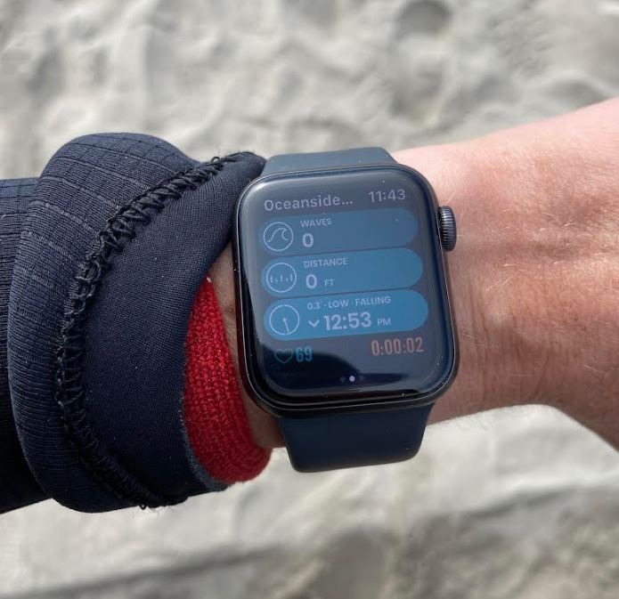 Surfing With The Apple Watch - A Review 3