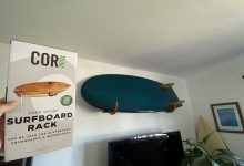 How To Install A Surfboard Wall Mount 8