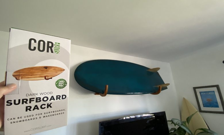How To Install A Surfboard Wall Mount 1