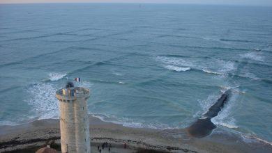 square waves seen at ile de re france